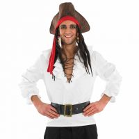 Deluxe blanc Pirate T-shirt