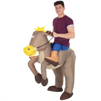 Costume Gonflable de Cheval Ride On