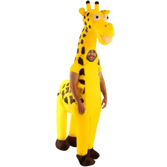 Costume gonflable Girafe Géante